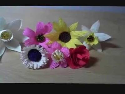 Best crepe paper flowers
