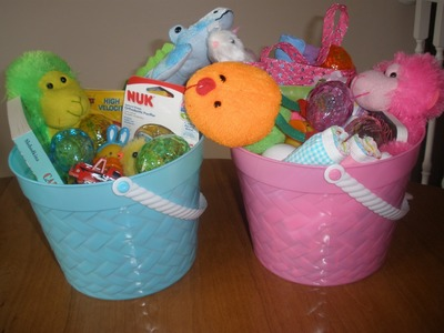 Cheap and Useful Easter Basket Ideas (For children under 2)