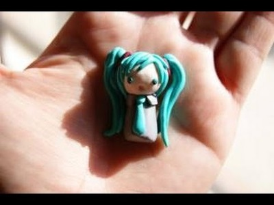 Chibi Hatsune Miku: Polymer Clay