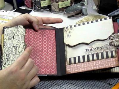 Chip board mini album