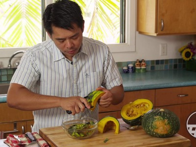 Cooking Tips on how to prepare a Kabocha Pumpkin