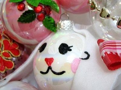 D.I.Y Bunny Ornaments, Soda Can Ornaments, and StarBucks Snowflake : SecretLifeofaBionerd