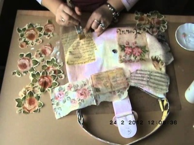 Decoupaged Bag Tutorial Part 2