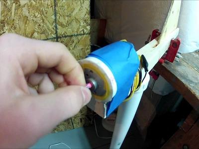 (DIY)Wind Turbine  Part 1 (Small)