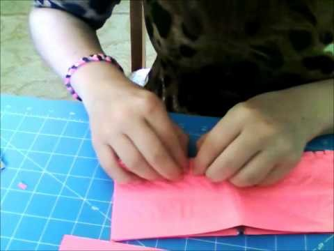 Duct Tape Faux Fur Fringe Design How To