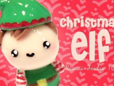 ◕‿◕ Christmas Elf! Kawaii Friday 103 - Tutorial in Polymer clay!
