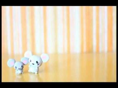◕‿◕ Mouse! Kawaii Friday 31 (Tutorial in Polymer Clay)