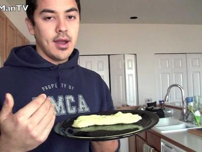 Easy How to make Omelette Video (eggs)- BenjiManTV
