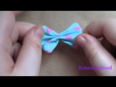ENGLISH : How to make fabric bows