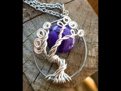 Full Moon Goddess Tree of Life Jewelry