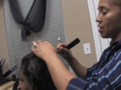 Hair Care Tips : How to Wrap Hair in a Doobie