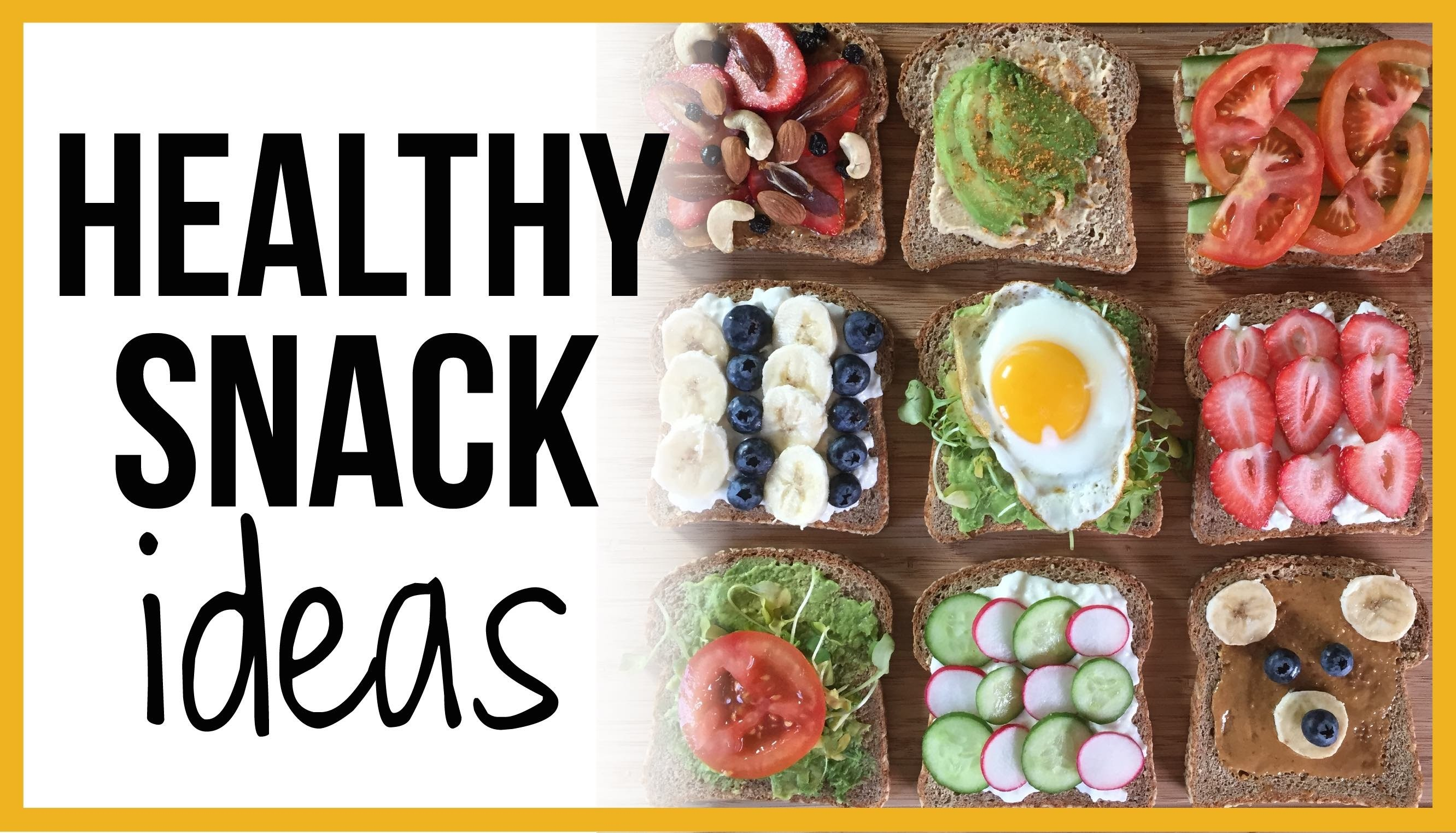 Healthy Snack Ideas!