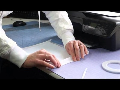 How I print on Tissue Paper ~ Tutorial