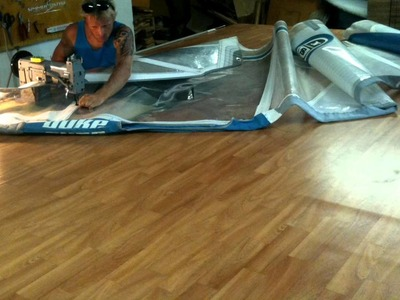 How to fix a broken windsurf sail in 1 minute