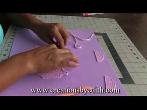 """How to make a """"Baby onesie"""" in cold porcelain or gumpaste"""