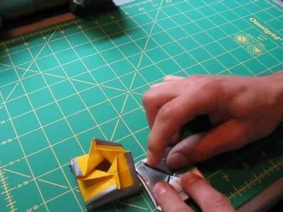 How to make a Duct tape coin holder