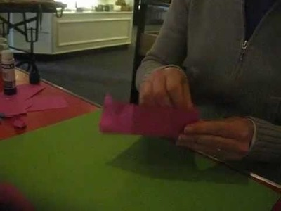 How to make a paper slice of cake in 30 seconds