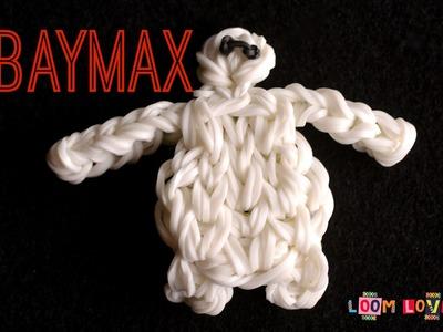 How to Make a Rainbow Loom Big Hero 6 Baymax