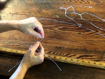 How to Make a Wire Person Armature: An In-Depth Tutorial by Sarafina Fiber Art
