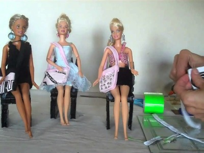 How To Make Hand Bags For Your Barbie Doll Very Easy