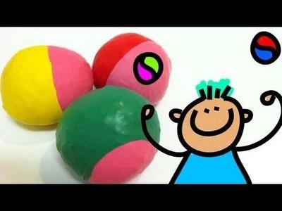 How to make juggling balls