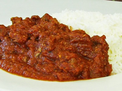How To Make Lamb Vindaloo - Indian Video Recipe
