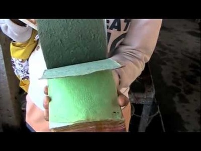 How to Make Paper Out of Elephant Poop Thailand