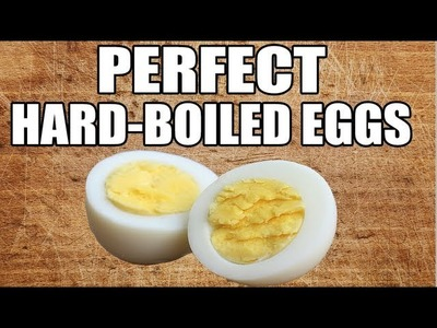 How To Make Perfect Hard Boiled Eggs - Easy To Peel