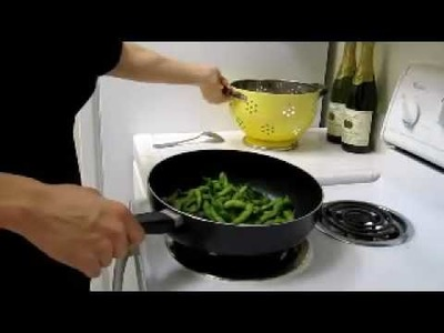 How to Make Spicy Sauteed Edamame!!!
