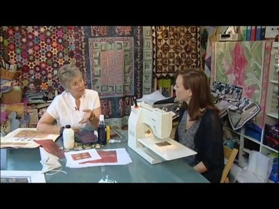 How to Quilt - Quilting with textile artist Di Wells