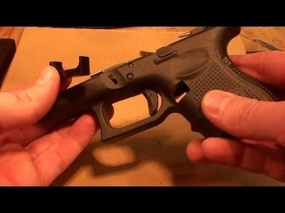 HOW TO REVERSE THE MAGAZINE CATCH ON A GEN 4 GLOCK