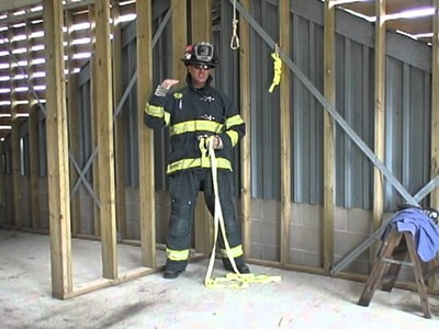 How to tie a Full Body Hasty Harness for Training or Rescue