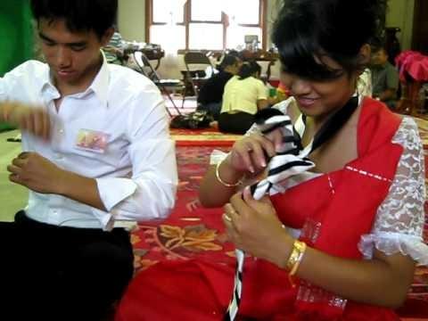 How to tye a tie