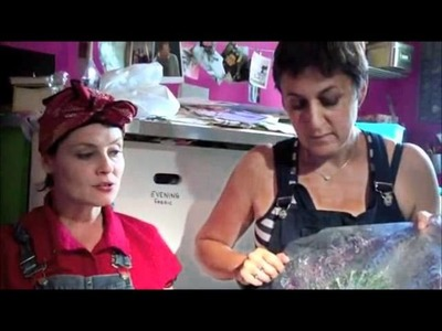 Karen Woods Textile and Mixed Media Artist Part I
