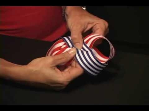 Learn how to Make Hair Bows with Hand Creasing - RaDDical Twist Hair Bow
