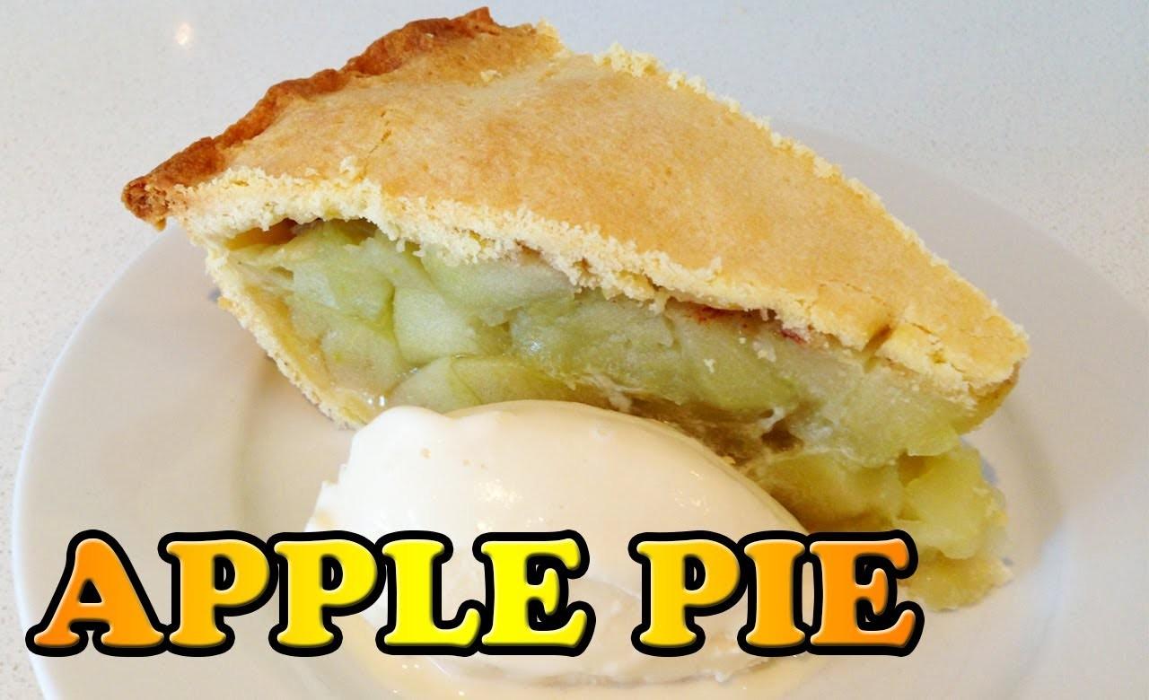 Make Apple Pie Recipe & Apple Crisp Crumble HOW TO COOK THAT Ann Reardon