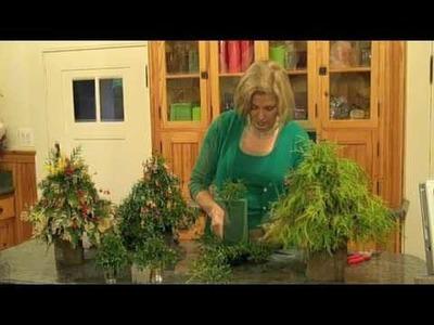 Making Miniature Christmas Trees