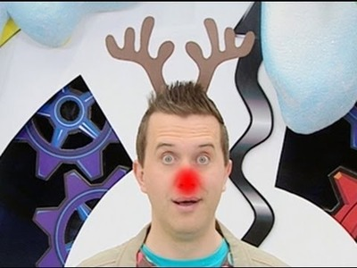 Mister Maker - How to Make a Christmas Reindeer Headband - Minute Make!