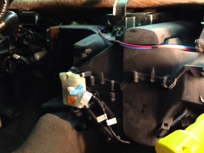 NO HEAT: Ford Taurus Heater Core Removal