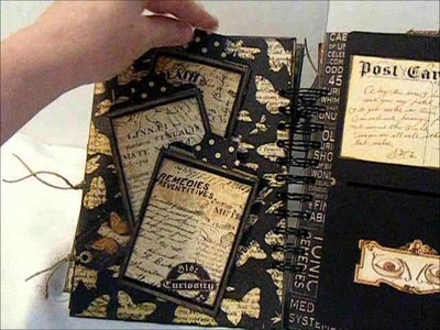 Olde Curiosity Shoppe Chipboard Mini Album