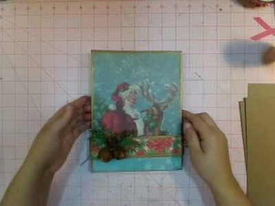 Paper bag Album - Matchbook Style