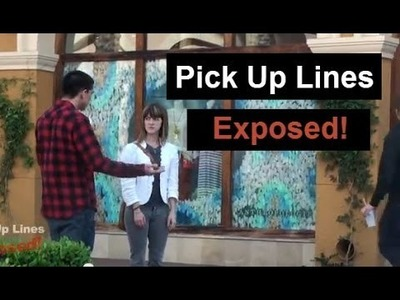 Pick Up Lines Exposed! - Simple Pickup Lines For Meeting Girls Exposed On Daygame Video