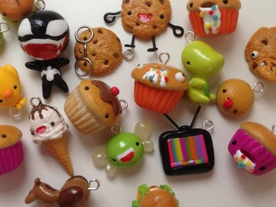 Polymer Clay Charm Update #23