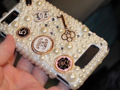 (Requested) How I Make My Cell Phone Case - Chanel Inspired
