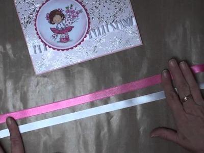 Ruffled Ribbon and Rose (card-making-magic.com)