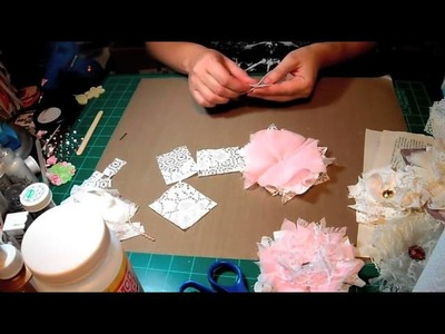 Shabby Chic Lace Flowers