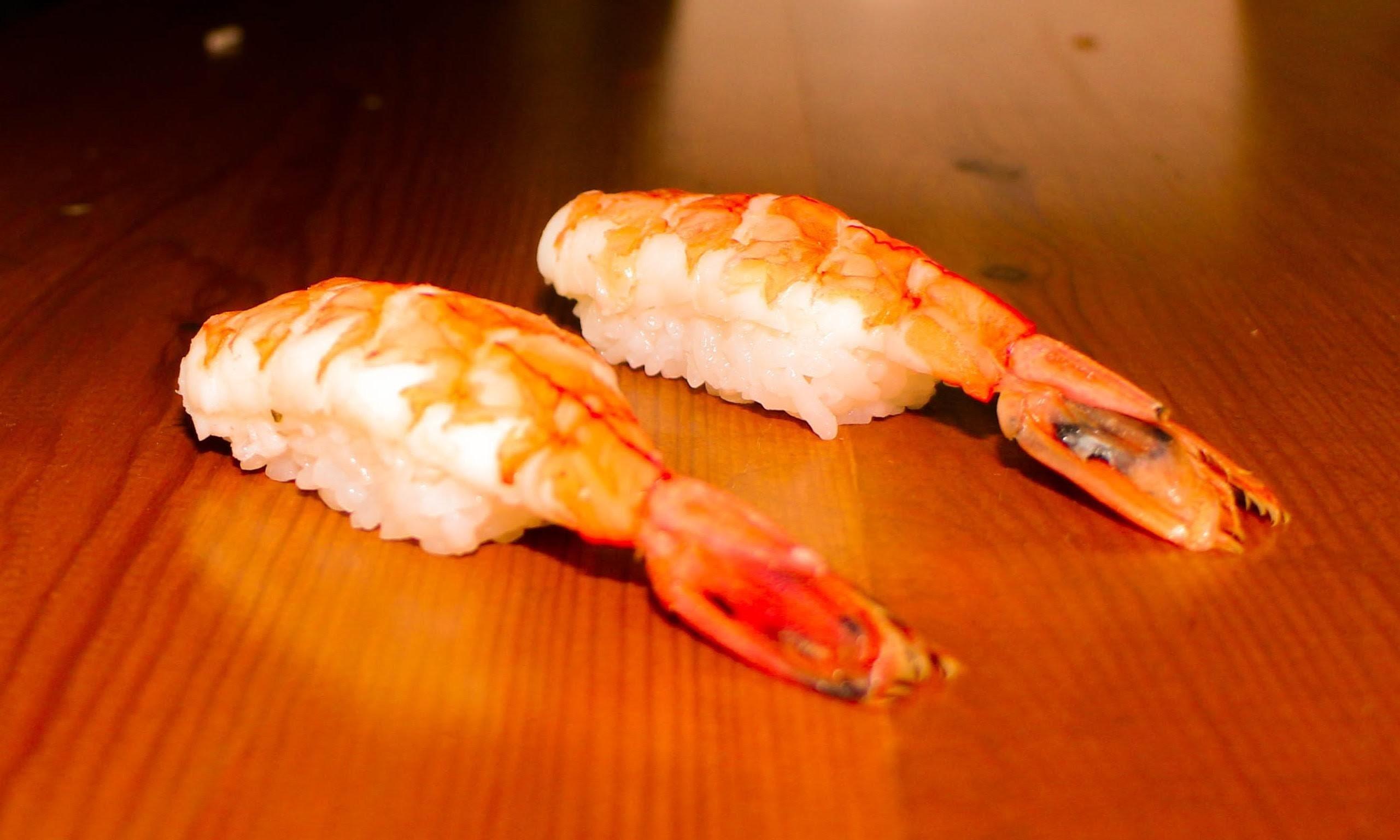 Shrimp Nigiri Sushi - How to Make Shrimp Nigiri Sushi
