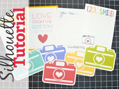 Silhouette Sunday - Cutting free printables with your Silhouette