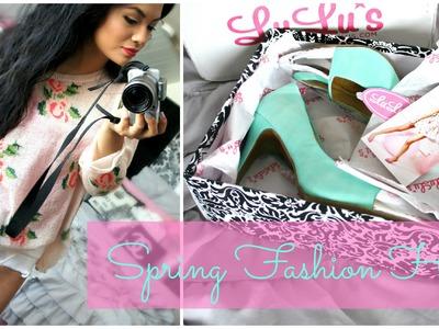 Spring Fashion Online Haul: Lulus.com Sheinside.com Romwe.com PinkandPepper.com