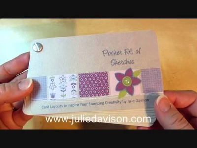 Stampin' Up! Sketchbook with Card Layouts & MDS Calendar